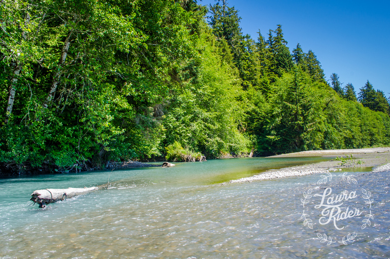 Flyfishing in Olympic National Park