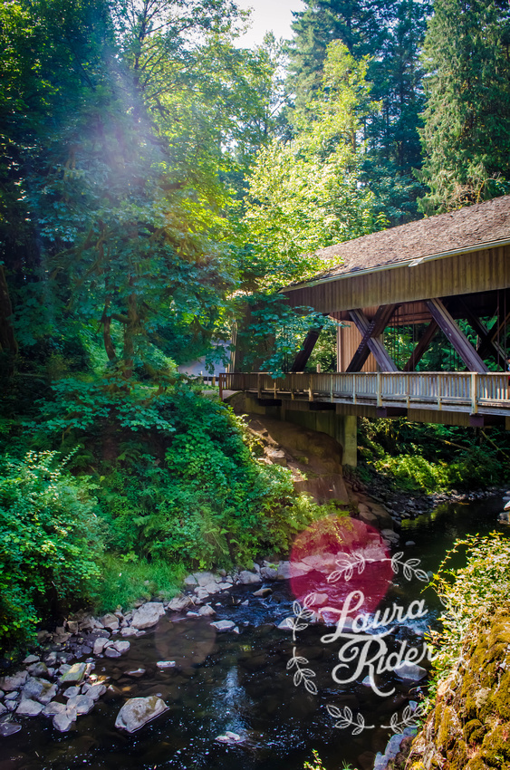 Bridge in Woodland, Washington